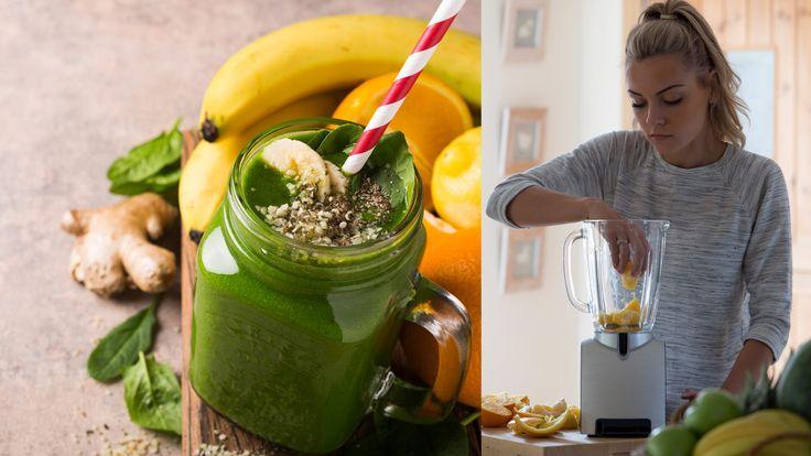 Zelené detoxikačné smoothie
