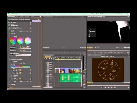 Correccion de color en premiere cs6