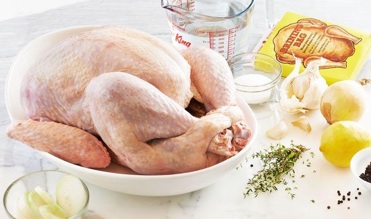 How to brine a turkey. #Manitoba #Turkey