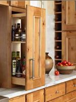 Kitchen Cabinet Storage | Custom Kitchen Cabinets | Mid Continent Cabinetry