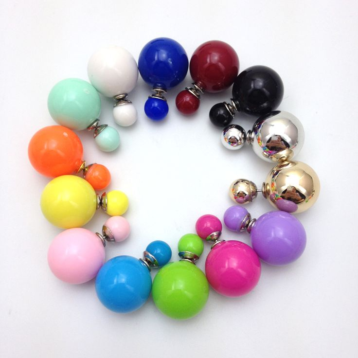 Cheap earring organizer, Buy Quality earrings sun directly from China earring post Suppliers:     2014 Big Pearl Earrings Women Fashion Stud Earrings Colorful Double Faced Pearl Earrings For Lady Party Jewel