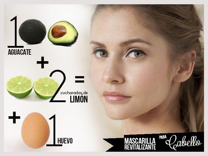 Tratamiento natural para el cabello con 3 ingredientes
