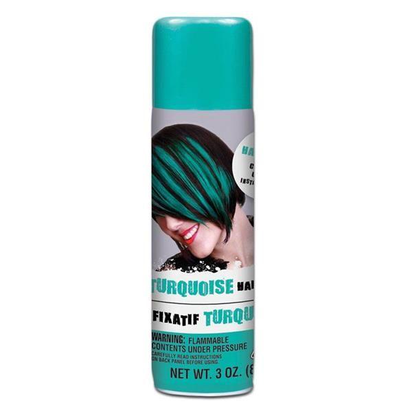 Turquoise Hair Spray Turquoise Hair Color Spray Hairspray
