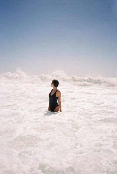 (wave) swimming in the #sea