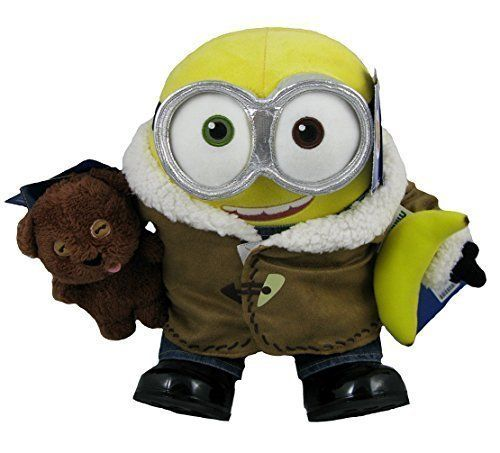Build A Bear Minions Bob Minion Teddy Bear Tim Minion Banana Minion Boots and Overalls Winter Coat a @ niftywarehouse.com #NiftyWarehouse #Minions #DespicableMe #Minion #Movie #Movies #Kids