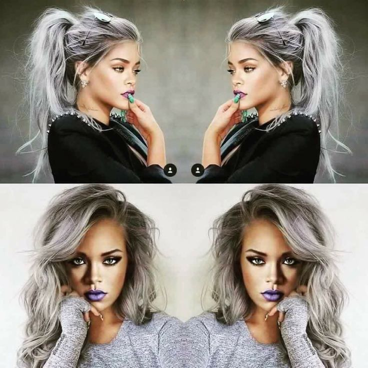perfect hair color platinum dark roots black roots white hair gray hair