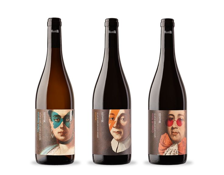 Mustilli - the Ancestors on Packaging of the World - Creative Package Design Gallery