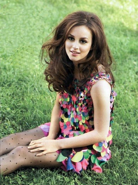 beautiful!: Girls Crushes, Blair Waldorf, Style Icons, Big Hair, The Dresses, Polka Dots Tights, Hair Looks, Leighton Meester, Gossip Girls