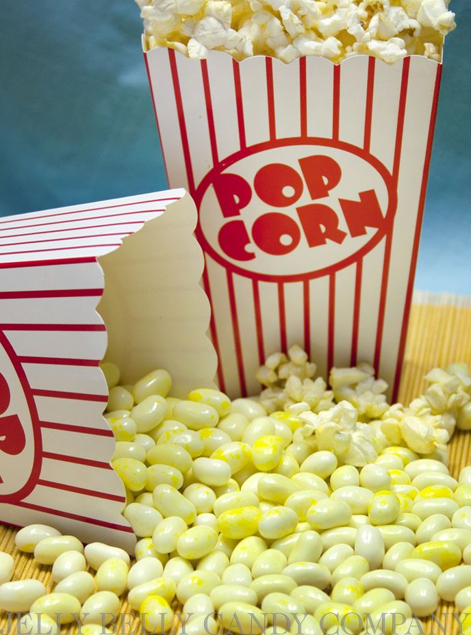 Love it or hate it, Buttered Popcorn is the second most popular Jelly Belly jelly bean flavor. Repin if it's your favorite too!
