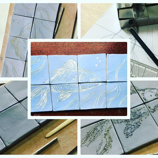 NEW WORKSHOP! Make Your Own Tiles for your kitchen bathroom or art  Book online:  www.shabbynook.co.uk  #handmade tiles #DIY #craft #art #uniquehome #homeinteriors #workshops #shabbynook #burton #burtonontrent #staffordshire #staffordshirelife #derbyshirelife #ceramics #kitchen #bathroom