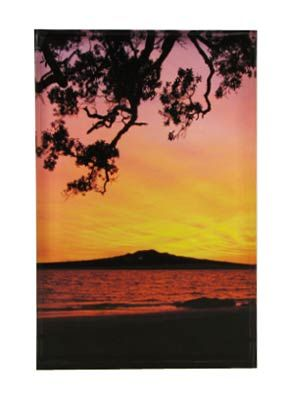 Rangitoto Dawn Art Block  Artearoa | Shop New Zealand NZ$ 43.90