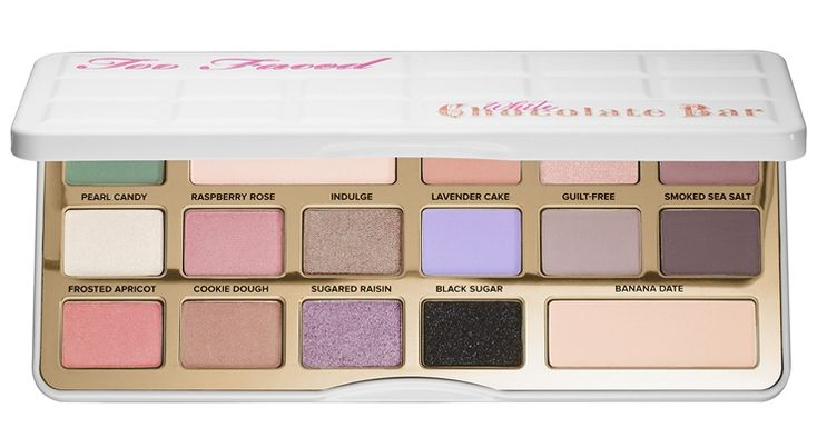 Too Faced White Chocolate Bar Palette Promises a Pastel Holiday Season – Musings of a Muse