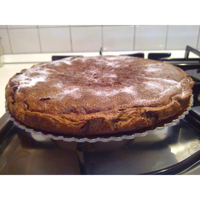 Chocolate and coconut kake