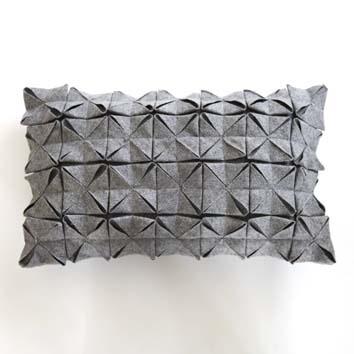 Tutorial felt cushion. *Leuk kussen idee