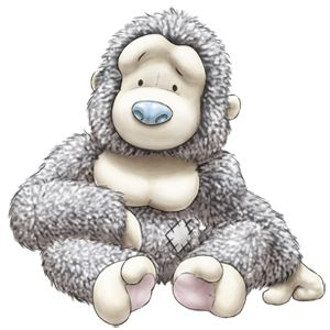 Treetops... the lazy Gorilla who loves nothing more than to sit and chill... although he'll always happily swing by to help you out!