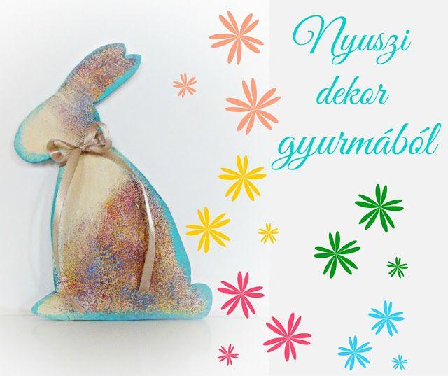 NB Kreatív Manufaktúra: Nyuszi dekor gyurmából