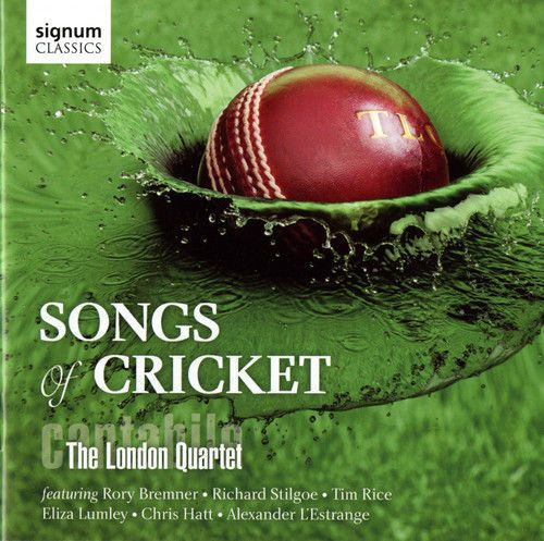Cantabile  The London Quartet Cantabile  Songs of Cricket [New CD]