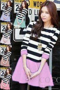 Sheren Dress Bahan: Kaos Spandek, 6 warna: Ungu, Pink, Tosca, Coklat, Biru, Cream Size: Fit L Lebar dada/panjang: 45/90cm Kode Produk: D4807 Harga: Rp. 49.000