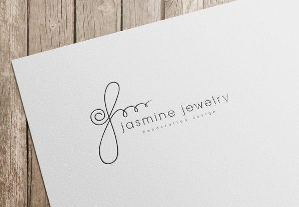 Jasmine Jewelry logo design on Behance