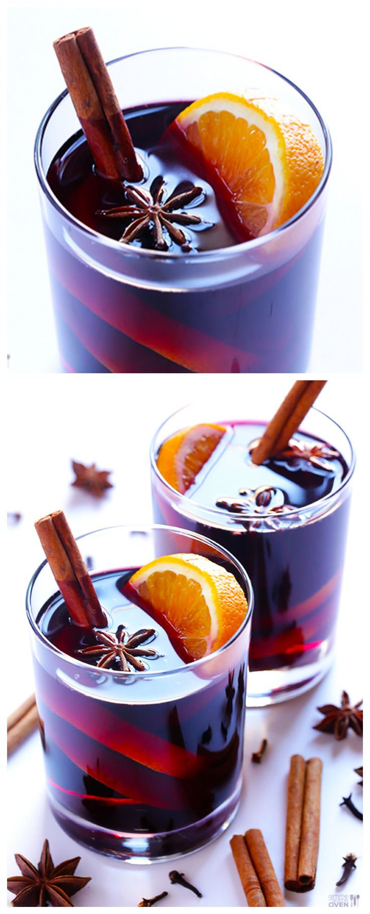 Mulled Wine -- so simple to make, and perfect to warm you up this season | gimmesomeoven.com