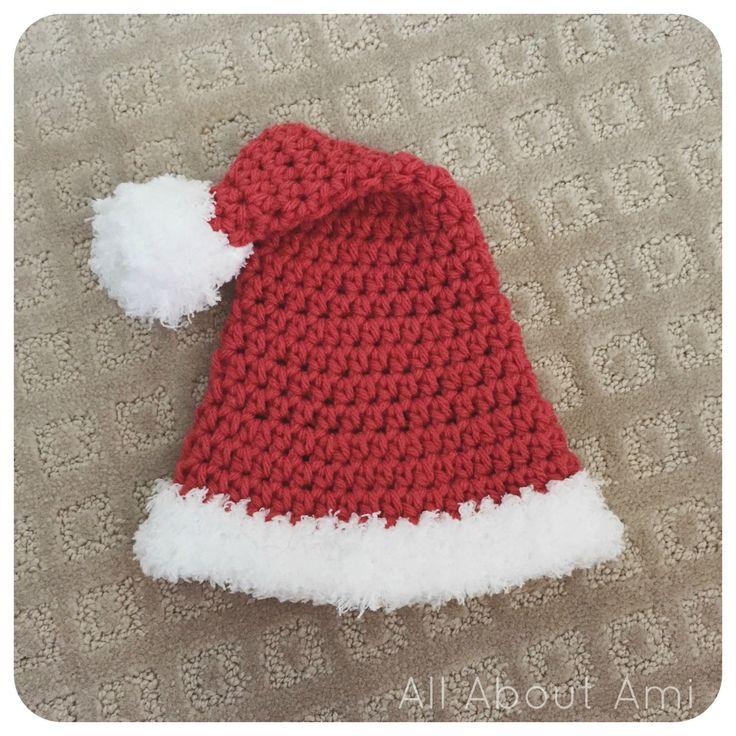 Free Crochet Pattern Santa Hat Baby : 1000+ ideas about Crochet Santa Hat on Pinterest Santa ...