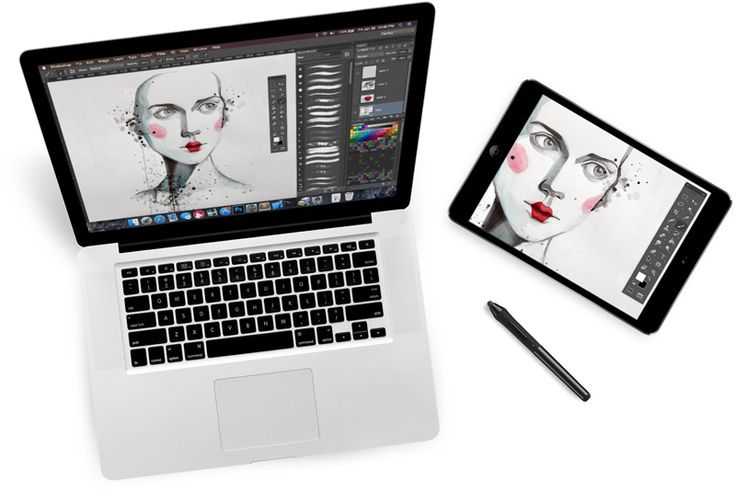 On the Creative Market Blog - 10 Apps to Turn Your iPad Into a Bad Ass Drawing Tablet