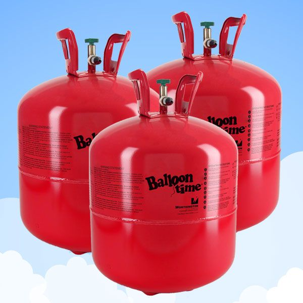 Helium Canisters Saver Kit (For 90 Balloons, 3 x Cylinders) - £16.25 Each £48.75 3pk