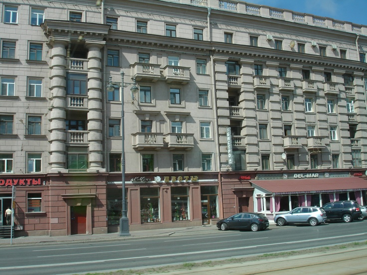 St. Petersburg-typical building