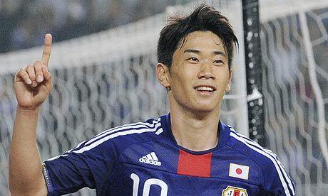 Shinji Kagawa!