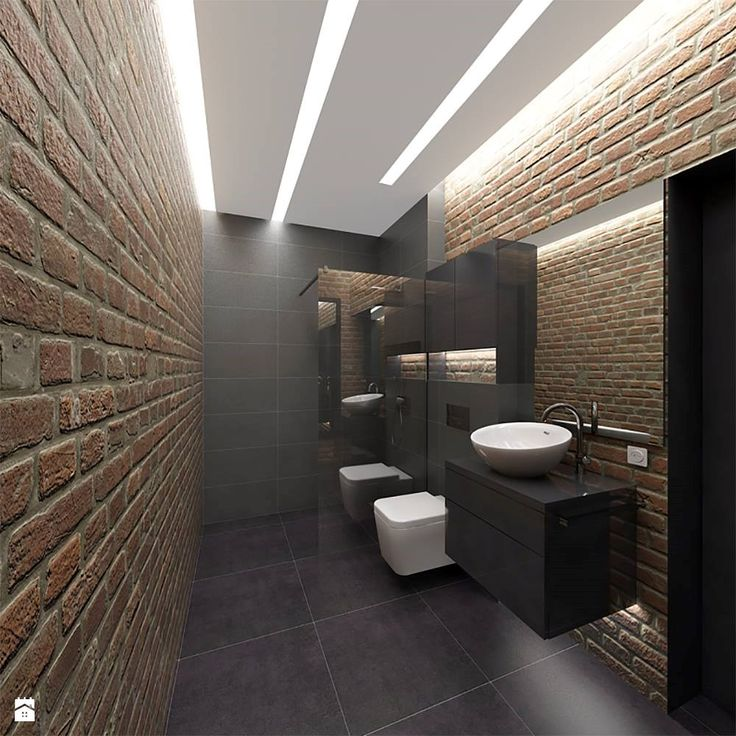 Minimalistyczny Dom w Gdyni Obłuże - zdjęcie od Malee - Projektowanie z pasją - Łazienka - Styl Industrialny - Malee - Projektowanie z pasją