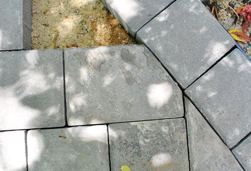 Fixing up our patio & laying pavers, next project on the to do list.