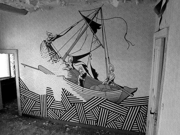 kuhles tape art wohnzimmer neu images oder fccaeecddca tape art tape wall art
