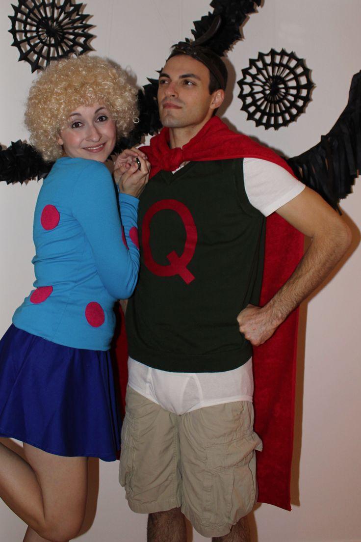 DIY Quail Man and Patty Mayonnaise Halloween Costumes