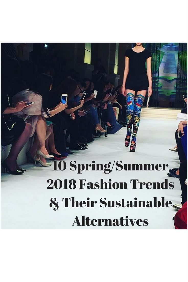 2018 is in full swing. Spring/Summer trends have arrived. I've got all the sustainable alternatives for your outfits here. Check it out.
