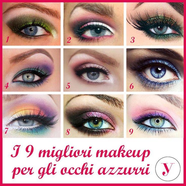 Avete gli occhi azzurri? ecco i 9 migliori makeup per voi! http://www.vanitylovers.com/prodotti-make-up-occhi/ombretti-palette.html?utm_source=pinterest.com&utm_medium=post&utm_content=vanity-ombretti-palette&utm_campaign=pin-mitrucco