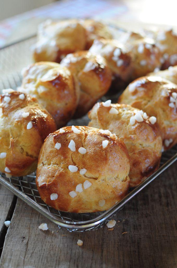 Petites briochettes au sucre de Christophe Felder - La popotte de Manue