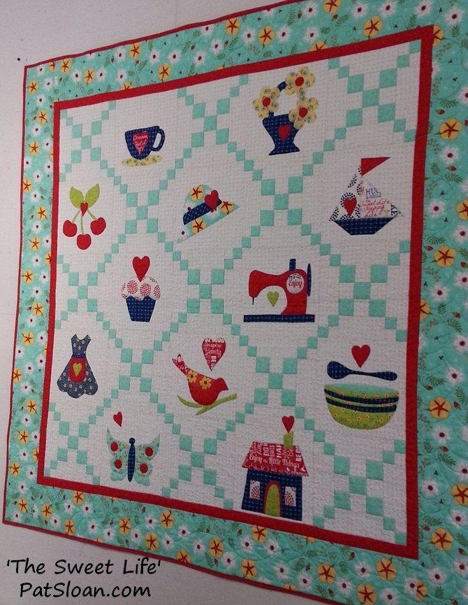 193 Best Images About Pat Sloan Quilts On Pinterest