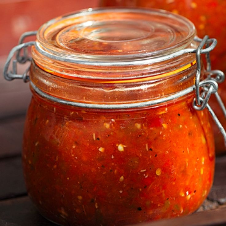 This homemade salsa recipe is sort of a cheat recipe because it uses canned tomatoes and a bit of tomato sauce.  For the true blue chef, of course you can use your own canned tomatoes and sauce or use from fresh tomatoes.. Homemade Salsa with Canned Tomatoes Recipe from Grandmothers Kitchen.