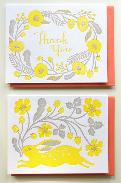 I am so happy to announce my letterpress stationery is officially on sale today! There are two items, and the above is a set of note cards, ...