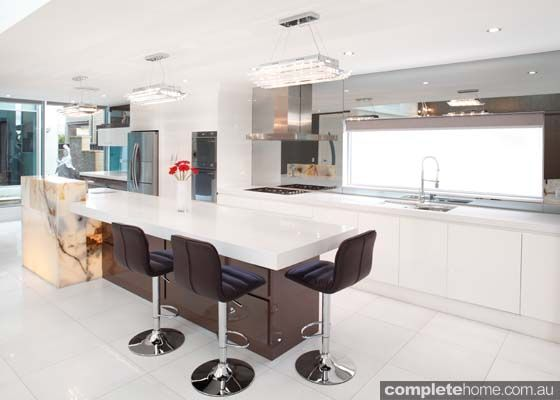 A Modern Kitchen Design From Wonderful Kitchens With An Australian Made  Oliveri Sink. Part 60