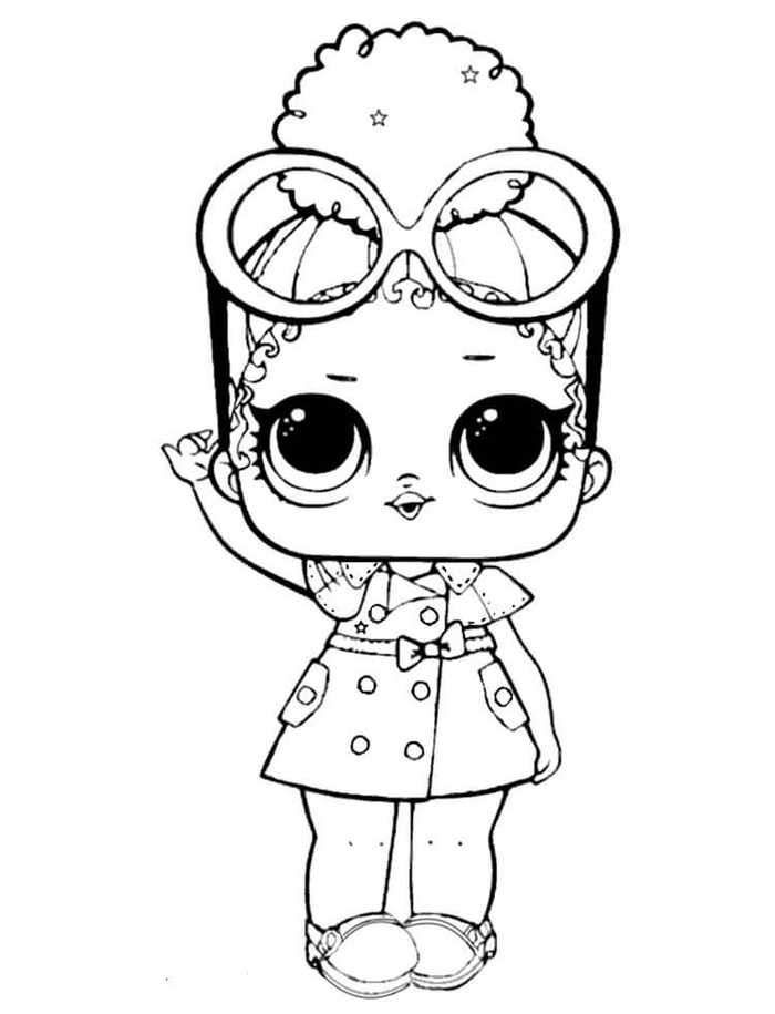 Boss Queen Lol Coloring Sheets In 2020 Cute Coloring Pages