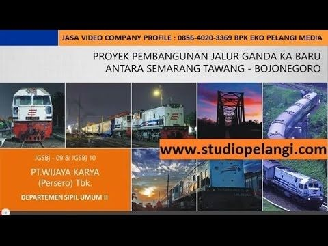 Jasa Video Company profile semarang  Wijaya Karya