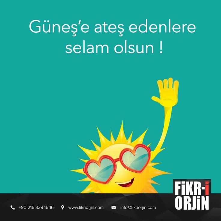 Haftanın son sıcak gününde herkese merhaba :) #digital #graphic #visual #art #web #webdesign #design #social #creative #marketing #work #sun #office #fikriorjin