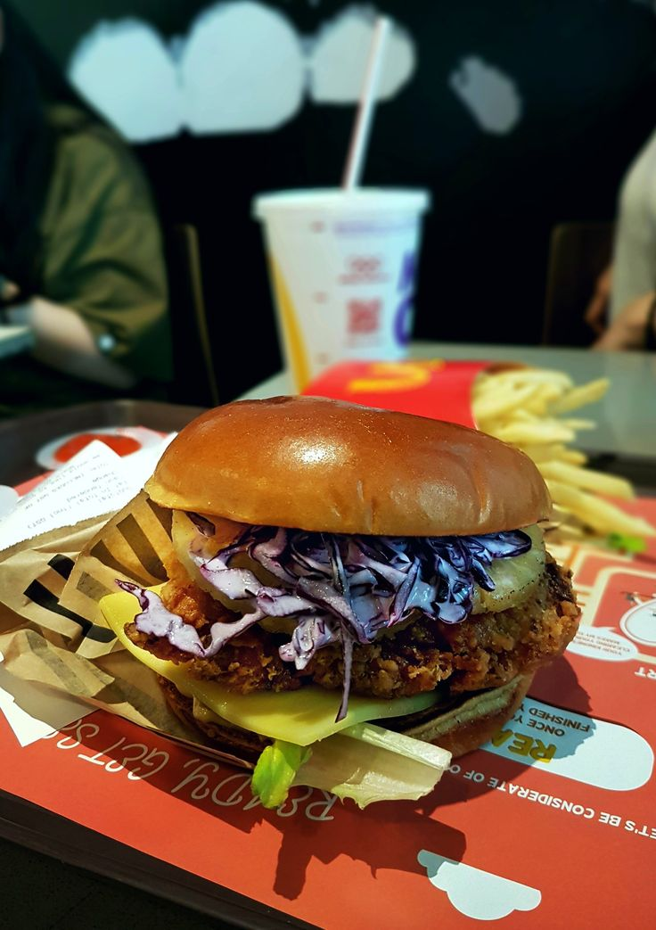 """Buttermilk Crispy Chicken"", Mc Donald, Singapore"