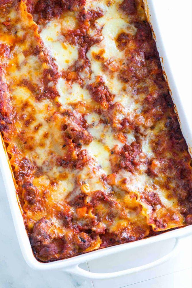 Cheesy Sausage And Beef Lasagna Recipe Ultimate Lasagna Recipe Beef Lasagna Beef Lasagna Recipe