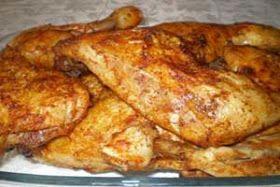 Arabic Food Recipes: Lebanese Grilled Garlic Chicken - Farrouj Mashwi Recipe