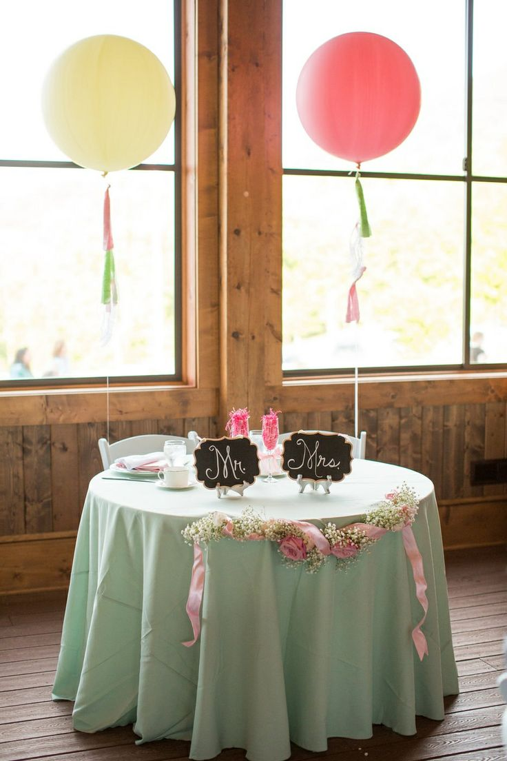 sweetheart table sweetheart table decorations sweetheart table idea pink and green wedding