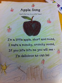 The Adventures of a First Grade Teacher: Apple Unit