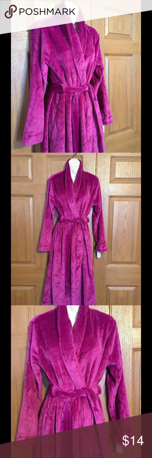 Gilligan & O'Malley Target Purple Bath Robe New | Robe ...