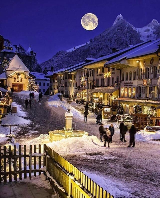 Full Moon Enjoy Your Switzerland Travel Gruyeres Places In Switzerland Most Beautiful Places Beautiful Places